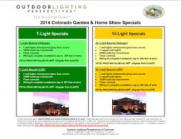 deck lighting outdoor lighting of colorado s