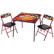 mickey mouse table l disney mickey mouse children metal table and chairs mickey mouse