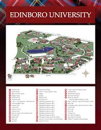 Usa Campus Map by Edinboro University U0027s Orientation