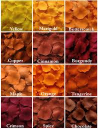 Romantic Bedroom Ideas With Rose Petals 500 Fall Silk Rose Petals Autumn Silk Rose Petal Mix Fall