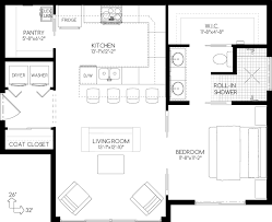 Compact Design With Full Sized Amenities The Perfect In Law Suite Plans Of Guest House