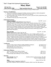 Best Professional Resume Format Sample Professional Resume Template Professional Resume Sample