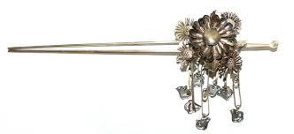 japanese hair pin japanese maiko bira bira hairpin kanzashi meiji era the japonic