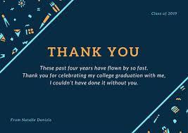 graduation thank you cards cyan and orange tribal pattern graduation thank you card
