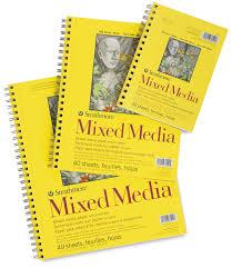strathmore 300 series mixed media pads blick art materials