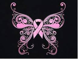 pink ribbon butterfly tatts with meaning pink ribbons