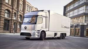 mercedes urban etruck concept has 124 mile electric range