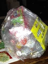 gift plastic wrap candy saran wrap need a activity