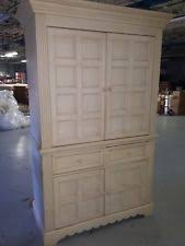 armoire for 50 inch tv wood entertainment tv armoires stands ebay