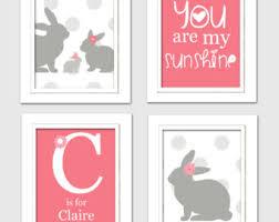 Bunny Nursery Decor Bunny Nursery Decor Etsy