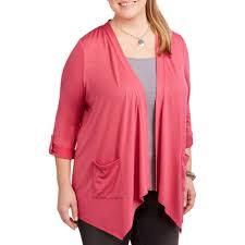 women u0027s plus tops u0026 t shirts walmart com
