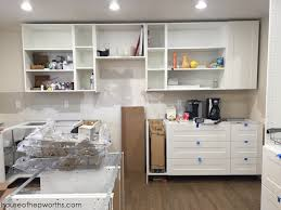 height of ikea base cabinets with legs assembling and installing ikea sektion kitchen cabinets
