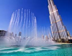 Burj Khalifa Burj Khalifa Dubai Jigsaw Puzzle In Waterfalls Puzzles On