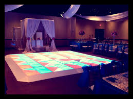 houston party rentals led floor illuminated floor draping houston party