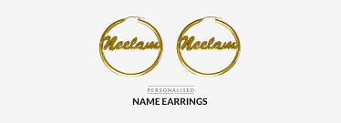 Custom Name Earrings Personalized Name Earrings Custom Made Personalised Monogram