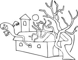 halloween coloring sheets elementary ghost coloring pages