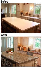 Refinish Kitchen Countertop by How To Paint Laminate Kitchen Countertops Laminate Kitchen