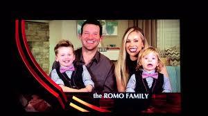 happy thanksgiving from the tony romo family