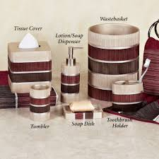 Brown Bathroom Accessories Bathroom Accessories Sets Libertyfoundationgospelministries Org