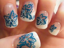 17 acrylic nails flower designs nailspics