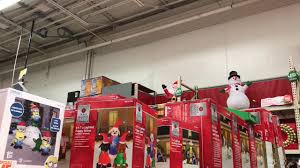 home depot inflatable christmas decorations home depot christmas inflatables youtube