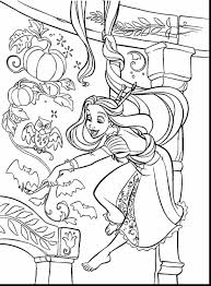 impressive disney princess rapunzel coloring pages printable with