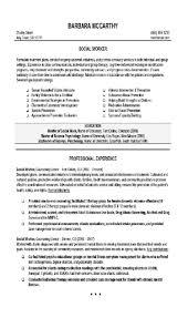 Resume With Community Service Social Work Resume Objective Berathen Com