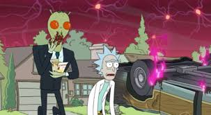 rick and morty halloween background check out the new promos from rick and morty u0027s surprise premiere