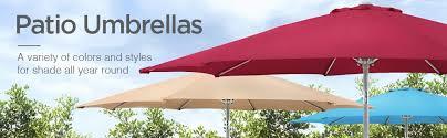 Awning Umbrella Amazon Com Best Choice Products Patio Umbrella 9 U0027 Aluminum Patio