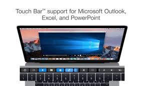 Cool New Electronics Parallels Finds A Cool Way To Make The Mac U0027s Touch Bar Useful In
