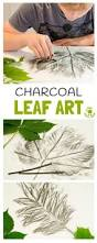 charcoal leaf pictures nature crafts leaf art and charcoal