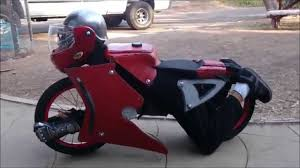 wait for it best home made transformer motorcycle halloween