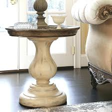 Round Glass Top Pedestal Table Wood Pedestal Table And Chairs Round Plans Base For Glass Top
