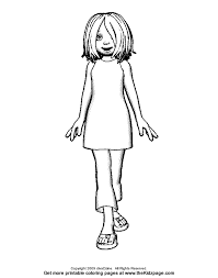 printable coloring pages girls 2 funny coloring pages