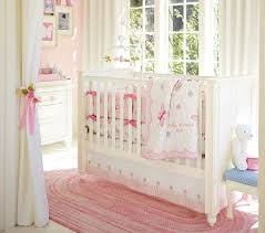 White Curtains Nursery by Beautiful Red Nursery Decor That Can Be Decor With White Bed