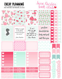To Do Stickers Free Stickers With Jane Austen Quotes Cheap Planning