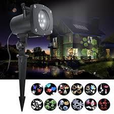 christmas motion light projector amazon com led projector light hosyo motion landscape holidays