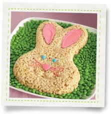 Party City Easter Cake Decorations by Bunny Crispy Rice Cake How To Party City