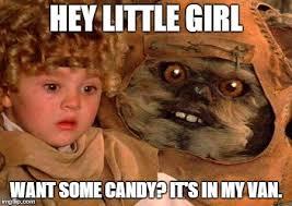 Ewok Meme - hey little girl imgflip
