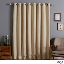 100 Curtains Aurora Home Extra Wide Thermal 96 Inch Blackout Curtain Panel