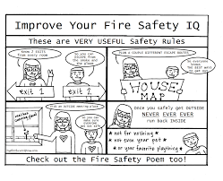 fire safety coloring pages glum