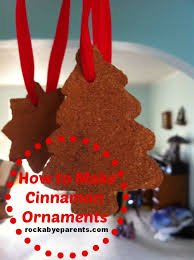 how to create the scent of with cinnamon ornaments