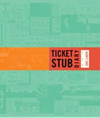 ticket stub album just the ticket ticket stub organizer pauper press inc