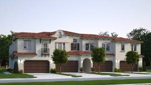 The Floor Plan Of A New Building Is Shown by The Grove At Raintree New Townhomes In Pembroke Pines Fl 33025
