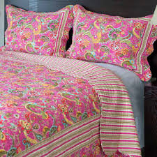 Fuschia Bedding Somerset Home Paisley Quilt Bedding Set Walmart Com