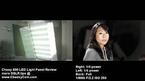 cheap studio lights for video led studio video lighting review youtube