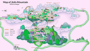 Stone Mountain Map Chongqing Tourist Map Tourist Attractions Map