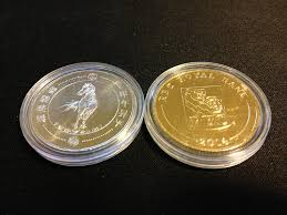 new year coin free gold and silver coins from royal bank of canada new