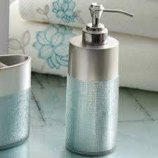 Aqua Colored Bathroom Accessories by Frosted Glass Bathroom Accessories Foter