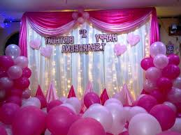 decoration of birthday party at home home decor